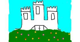 Castle drawing by Soph