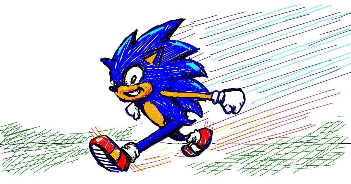 Hedgehog drawing by aanturnip