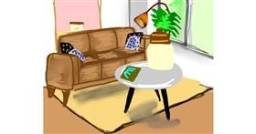 Drawing of Couch by Bro 2.0😎