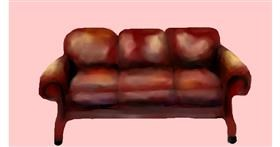 Drawing of Couch by Sirak Fish