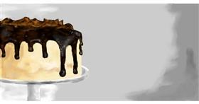 Drawing of Cake by Effulgent Emerald
