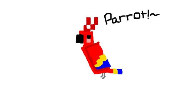 Parrot drawing by ~Starslayer~
