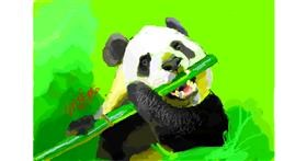 Bamboo drawing by MooMel