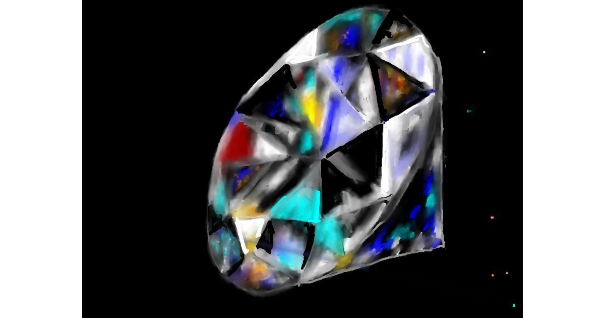 Diamond drawing by SAM AKA MARGARET 🙄