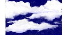 Cloud drawing by [redacted]