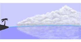 Drawing of Cloud by Humo de copal