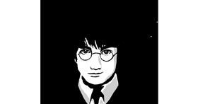 Drawing of Harry Potter by JSim