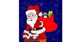 Santa Claus drawing by MaRi