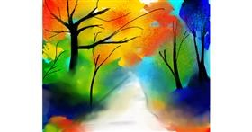 Drawing of Tree by MZ