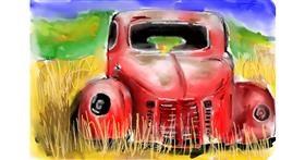 Truck drawing by (luna lovegood)