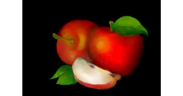 Apple drawing by :0