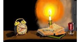 Drawing of Alarm clock by SAM AKA MARGARET 🙄