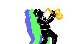 Drawing of Saxophone by smackerel