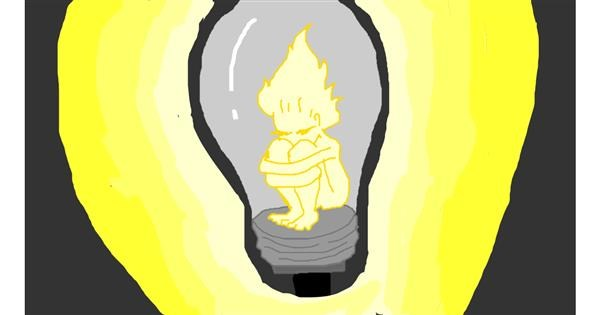 Light bulb drawing by melli