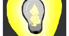 Light bulb drawing by melli