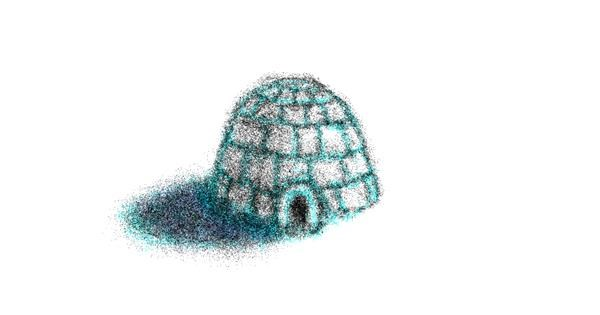 Igloo drawing by Warren
