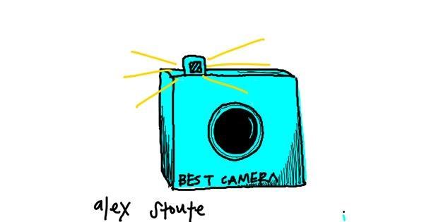 Camera drawing by alex