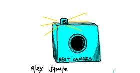 Drawing of Camera by alex