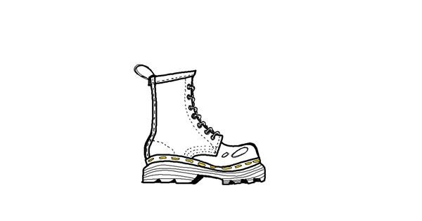 Boots drawing by umemesomuch