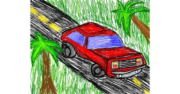 Car drawing by 🌹Rosas6🌹
