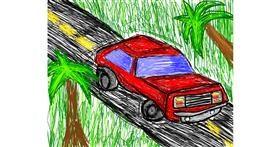 Car drawing by 🌹Rosas6🌹