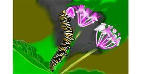 Drawing of Caterpillar by SAM AKA MARGARET 🙄