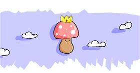 Drawing of Mushroom by ?