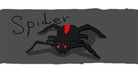 Drawing of Spider by -.ila.Playz.Roblox.-