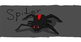 Spider drawing by -.ila.Playz.Roblox.-