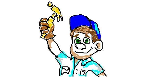 Handyman drawing by TripleHT