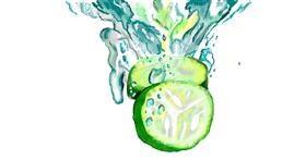 Cucumber drawing by SAM AKA MARGARET 🙄