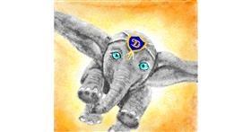 Elephant drawing by JjjjjjJison