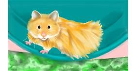 Drawing of Hamster by Tim