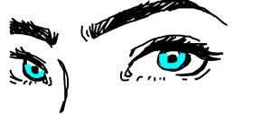 Eyes drawing by melli