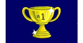 Drawing of Trophy by Sim