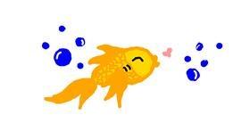 Fish drawing by bob