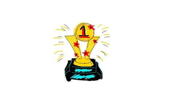 Trophy drawing by Sinstris