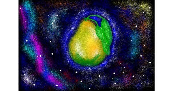 Pear drawing by Ashley