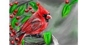 Bird drawing by Soaring Sunshine