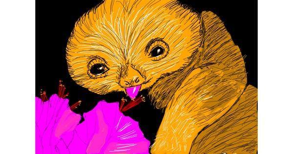 Sloth drawing by iris