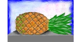Pineapple drawing by SAM 🙄