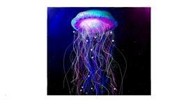 Drawing of Jellyfish by Sara