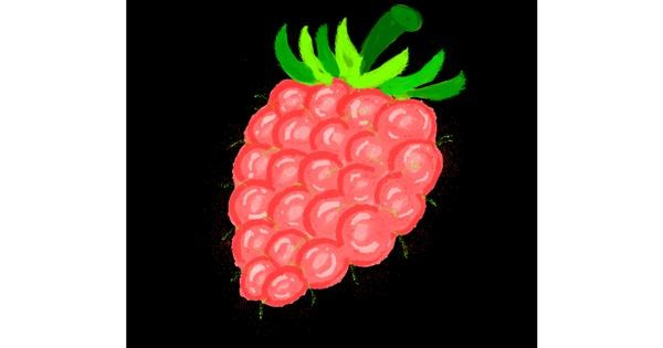 Raspberry drawing by Zerous 👩🎤