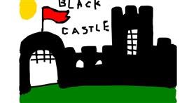 Drawing of Castle by Maryna