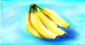Drawing of Banana by Soaring Sunshine