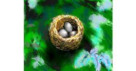 Nest drawing by teidolo
