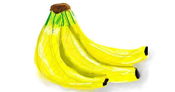 Banana drawing by 💕Mia Cat💕