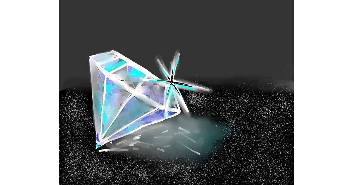 Diamond drawing by Bro 2.0😎