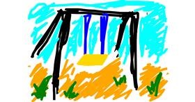 Swing drawing by Fafa Nabila