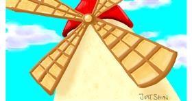 Windmill drawing by Just_shin